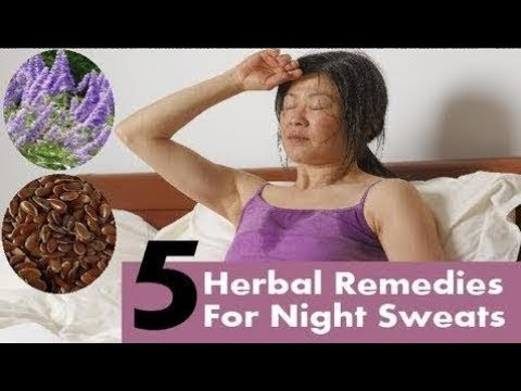 How To Stop Night Sweats  Top 5 Herbal Remedies For Night Sweats