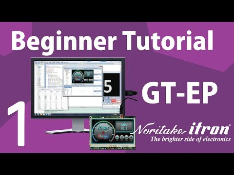 Noritake GT-EP Beginner Tutorial: Part 1 | Install iDevTFT