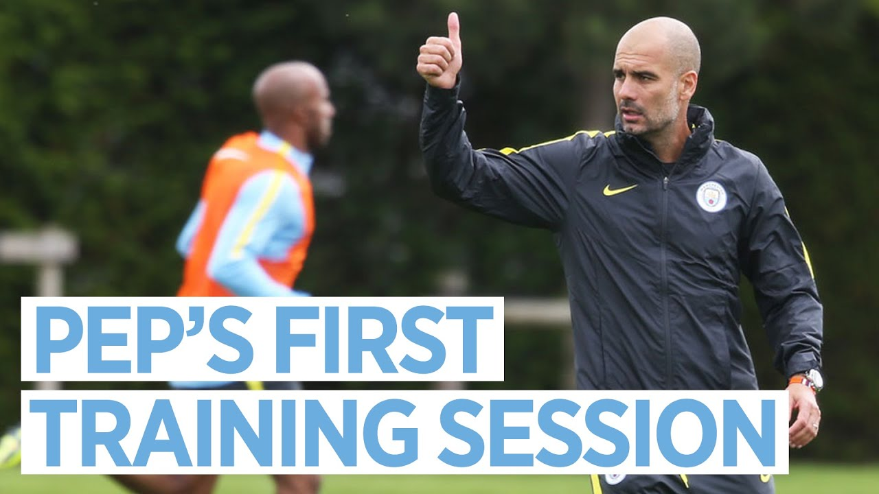 PEP'S FIRST TRAINING SESSION!