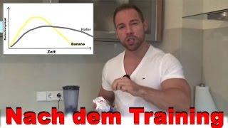Welche Kohlenhydrate nach dem Training? Instant Oats selber machen