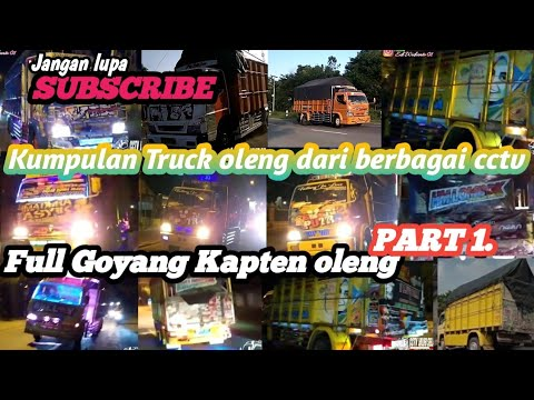 Kumpulan truck kapten oleng dari beberapa cctv Madura asyik goyang paling parah.😱/DJ Minang virall