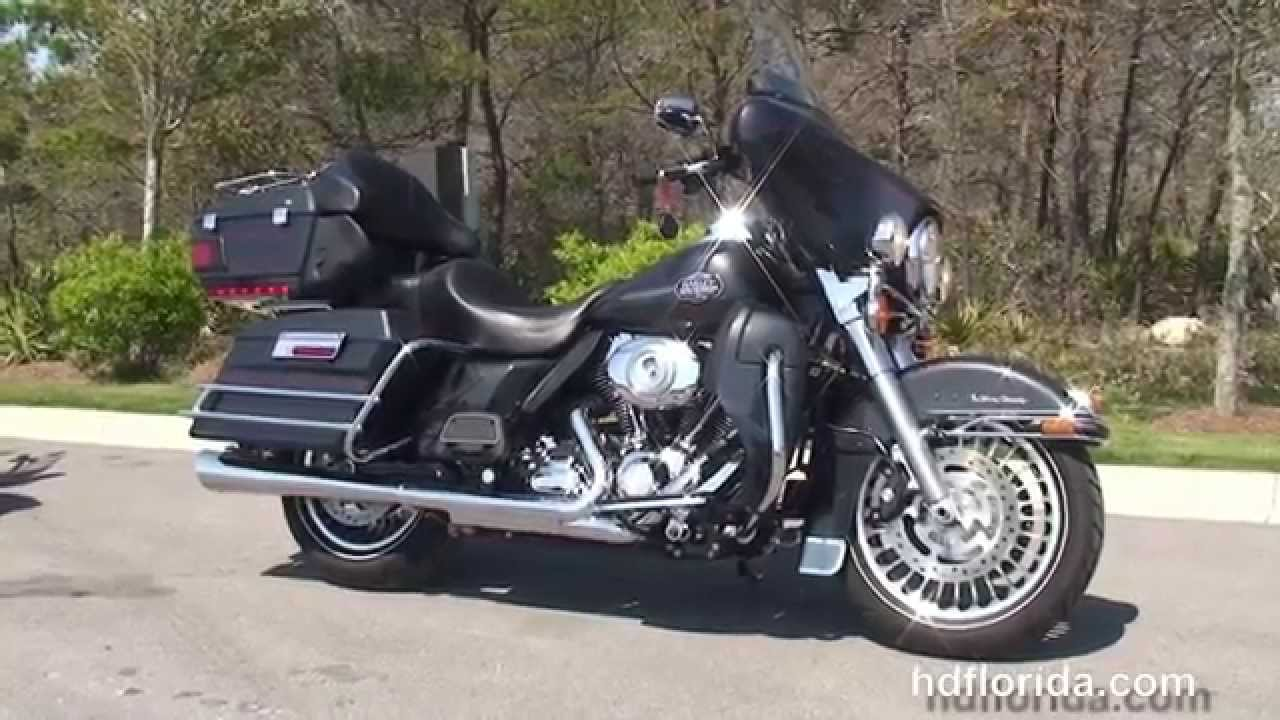 Used 2009 Harley Davidson Ultra Classic Electra Glide Motorcycles ...