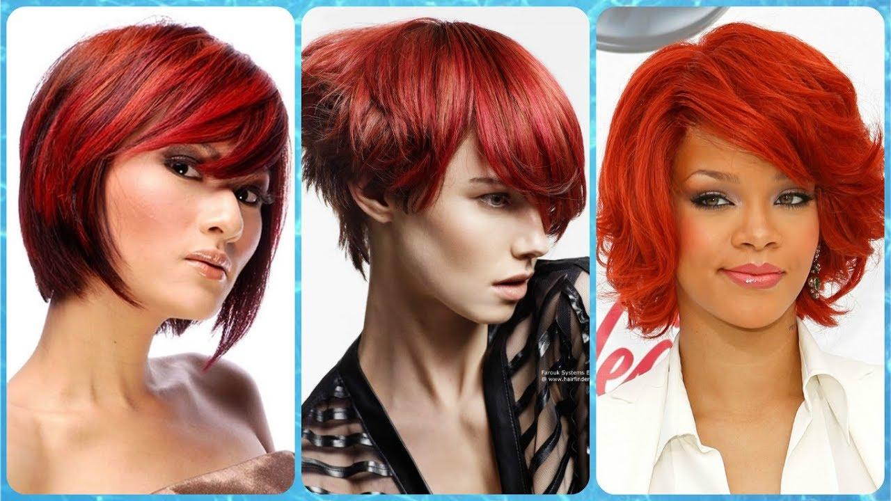 Die Schone 20 Ideen Zu Kurzhaarfrisuren Rote Haare Fur Damen