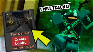 HOW TO BEAT THE CANALS NEW UPDATE MAP IN DUNGEON QUEST ROBLOX