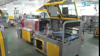 LA 6000CS+TSS 1845+ALB 210 Sealing+Shrink+Labeling Fully Automatic Production Line