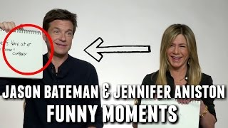 Jason Bateman and Jennifer Aniston Funny Interview Moments