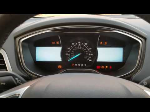 2014 Ford Fusion Cluster