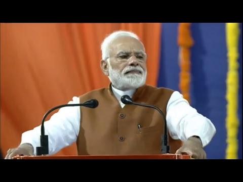 Shri Narendra Modi addresses public meeting in Hubli, Karnataka