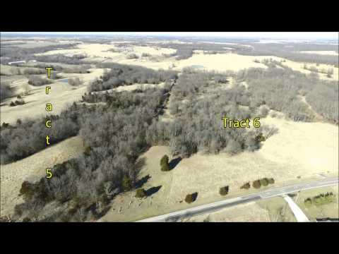 R. P. Fitzsimmons Farm Aerial Tour - Macon County, MO