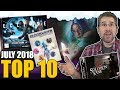 Top 10 most popular board games: July 2018