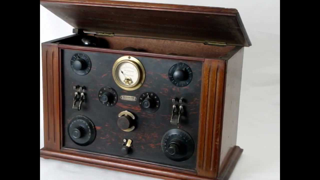 Coleccionista de radios antiguas vicente jose felip fotos mi coleccion 2 de 9 youtube - Fotos radios antiguas ...
