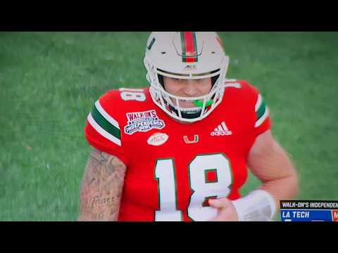 Tate Martell first playing time vs Louisiana Tech