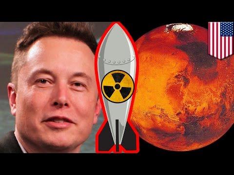 Terraformation de Mars : Elon Musk veut larguer des bombes nucléaires sur Mars pour y vivre