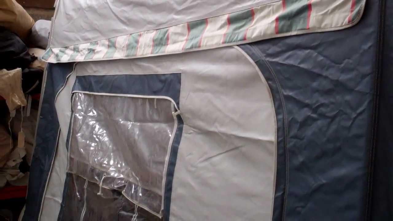 Dorema President caravan awning size 13 - YouTube
