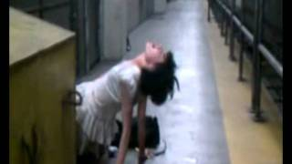 possessed girl found in subway