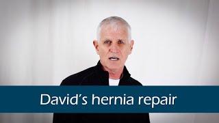 David's inguinal hernia repair experience