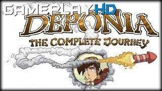 Deponia - The Complete Journey Gameplay (PC HD)