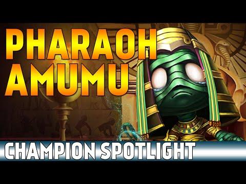 Pharaoh Amumu   Skin Spotlight