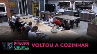 Almoço preparado por Aritana causa polêmica no Power Couple