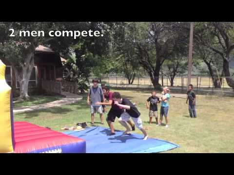 30ft Ali'i Obstacle Course from Hi Jump Inflatable Bounce House Rentals 808 589 9000