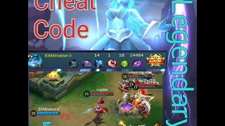 Mobile Legend: Eudora Is Like The Cheat Code To Win The Match (Legendary GAMEPLAY) #EP3