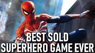 Marvel's Spider-Man Became The Best Selling SuperHero Game Ever!