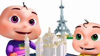 Learn Wonders Of The World   Nursery Rhymes & Kids Songs   Original Learning Songs