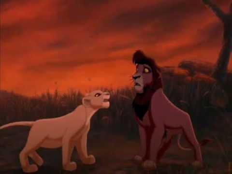 Angry Lion Wallpaper Hd 1080p The Lion King Kiara Amp Kovu Set Fire To The Rain Adele