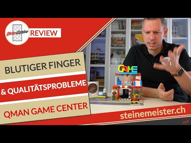 Qman Game Center 1135 blutiger Finger, Qualitätsprobleme sowie Minifigur Vergleich