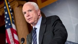 President Trump releases statement about John McCain