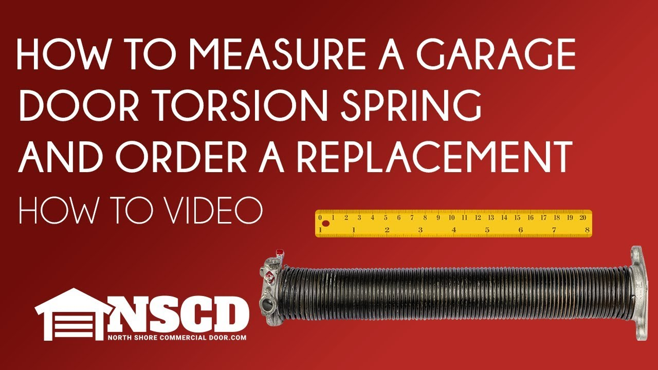 TODCO Truck Door Counterbalance Torsion Spring