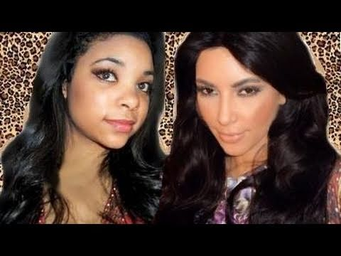 Kim Kardashian Hair YouTube