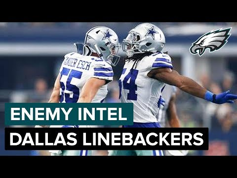 Jaylon Smith & Leighton Vander Esch: Cowboys Stacked Linebackers  Eagles Enemy Intel
