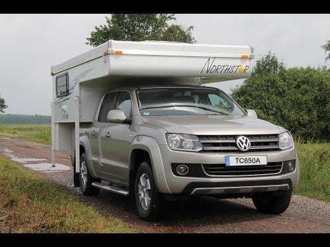 camper motorhome pop up tc 650 p vw amarok toyota hilux ford ranger youtube. Black Bedroom Furniture Sets. Home Design Ideas