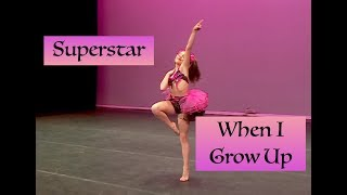 Superstar / When I Grow Up Audio Swap for Fool Me Once Aldc