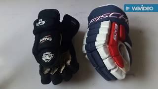Хоккейные перчатки. Дорогие vs дешевые.