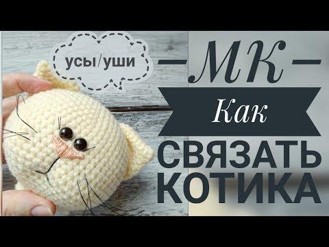 Как сделать усы из лески для кота
