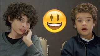 Stranger Things Cast 😊😊😊 - Finn, Millie, Noah and Gaten CUTE AND FUNNY MOMENTS 2017