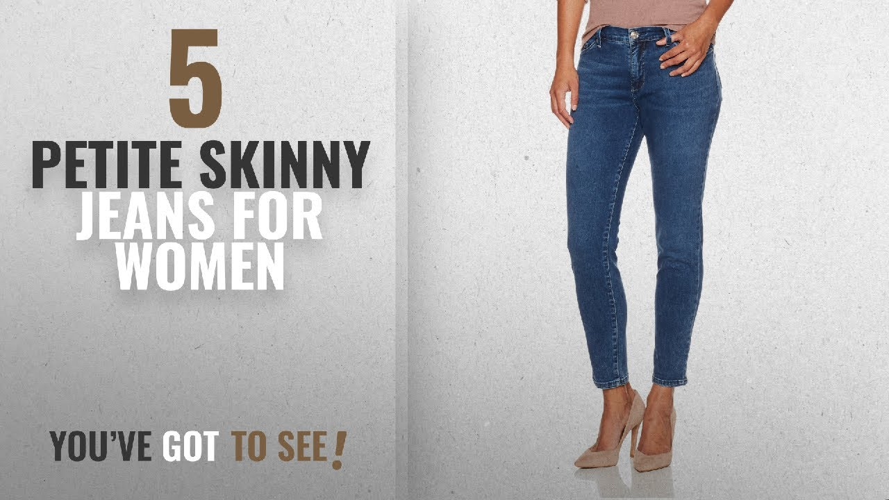 fbde13ab8a6c5 Top 10 Petite Skinny Jeans For Women [ Winter 2018 ]: Lee Women's Slimming  Fit Rebound Skinny Leg
