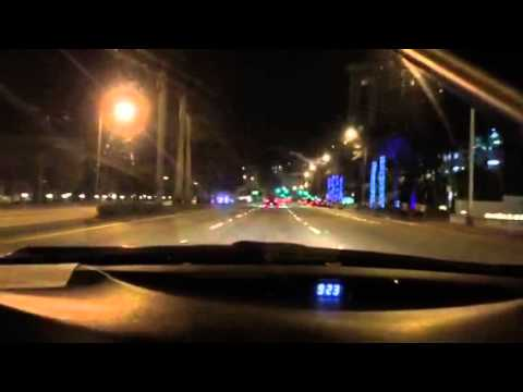 Miami Beach Night Driving