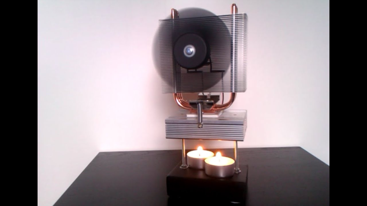 ThermoElectric Generator powered by a Candle - YouTube