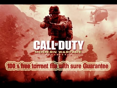 modern warfare remastered torrent