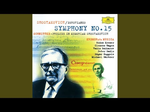 Shostakovich: Symphony No.15, Op.141 - Arr. Viktor Derevianko (with the participation of Mark...