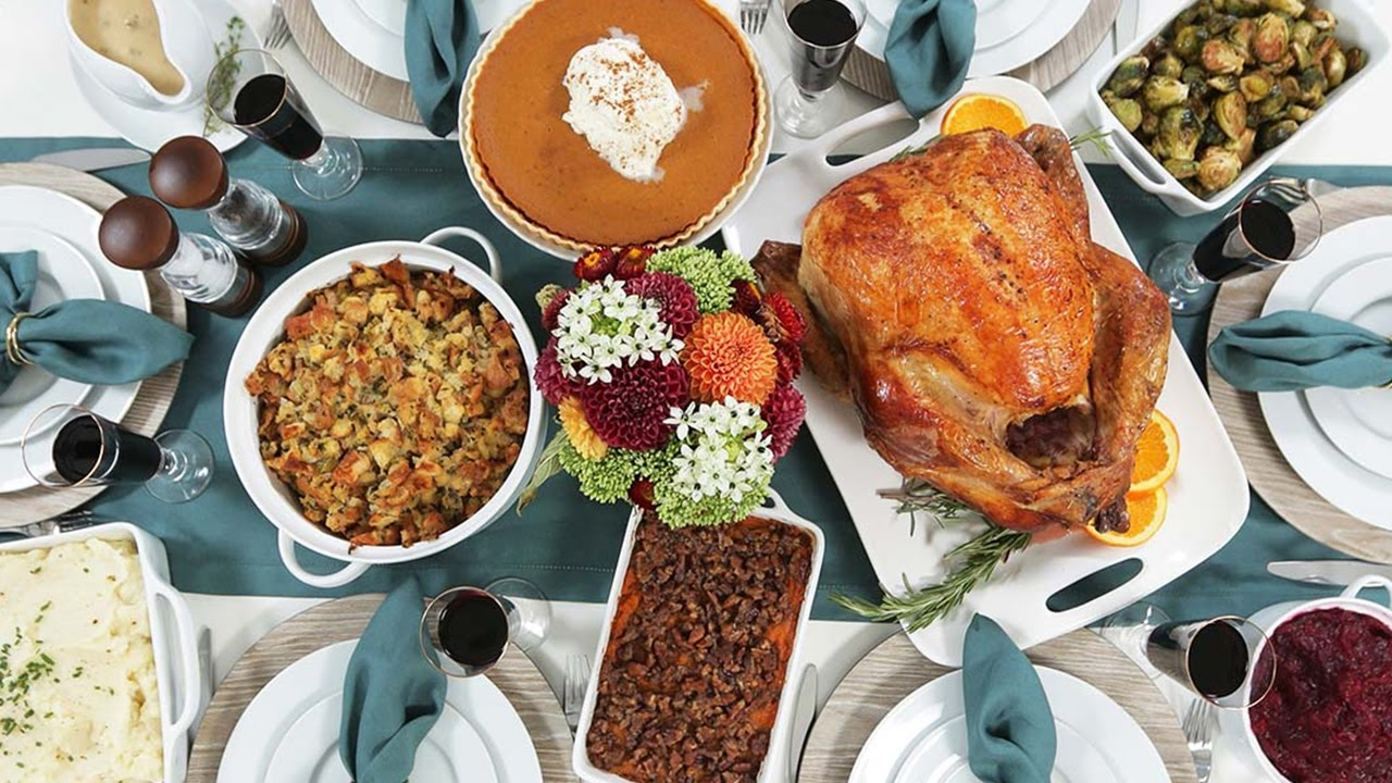 My Thanksgiving Dinner Countdown - YouTube