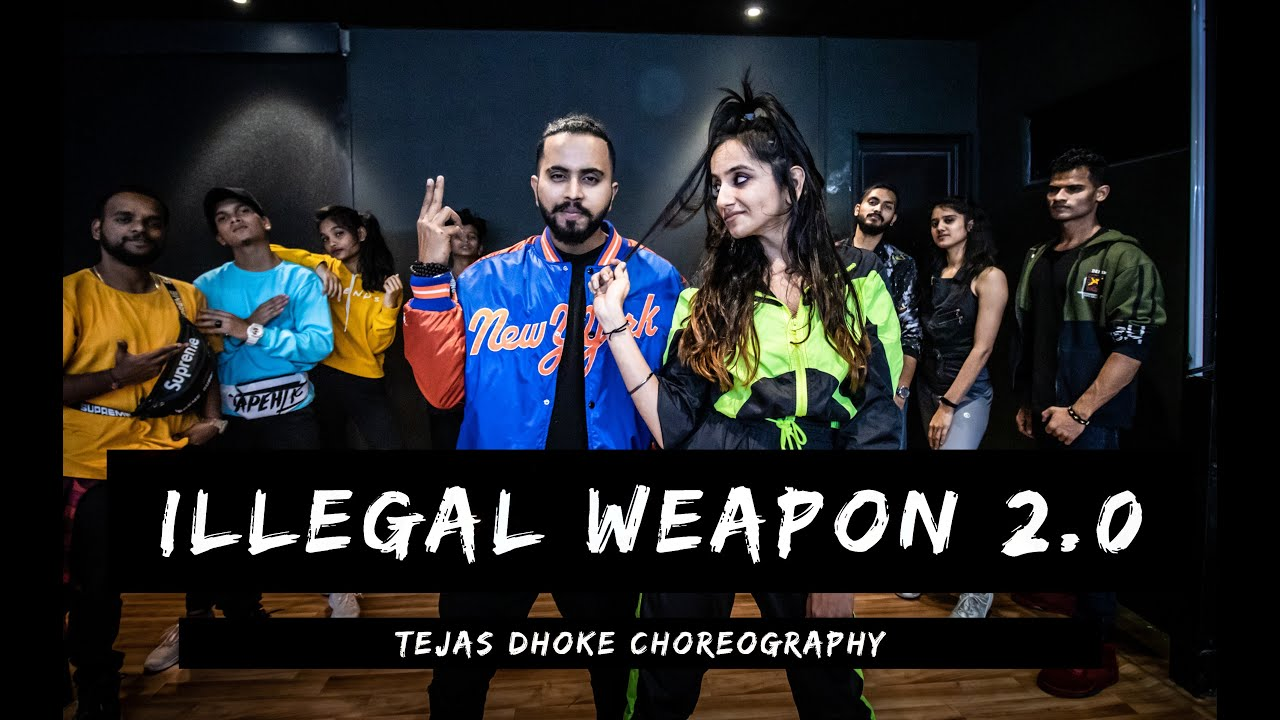 ILLEGAL WEAPON 2 | Tejas Dhoke Choreography | Ishpreet Dang | Dancefit Live