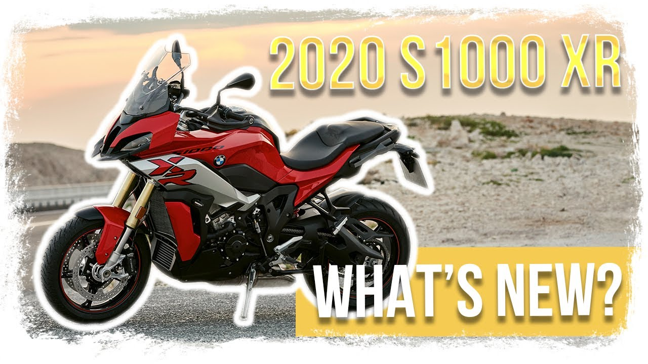 ADVENTURE, TOURING & SPORT - 2020 BMW S1000XR Specs, Preview and Walkaround