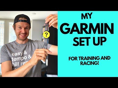 GARMIN DATA SCREENS I use for RUNNING & RACING, plus a ROUTE PLANNING BONUS!