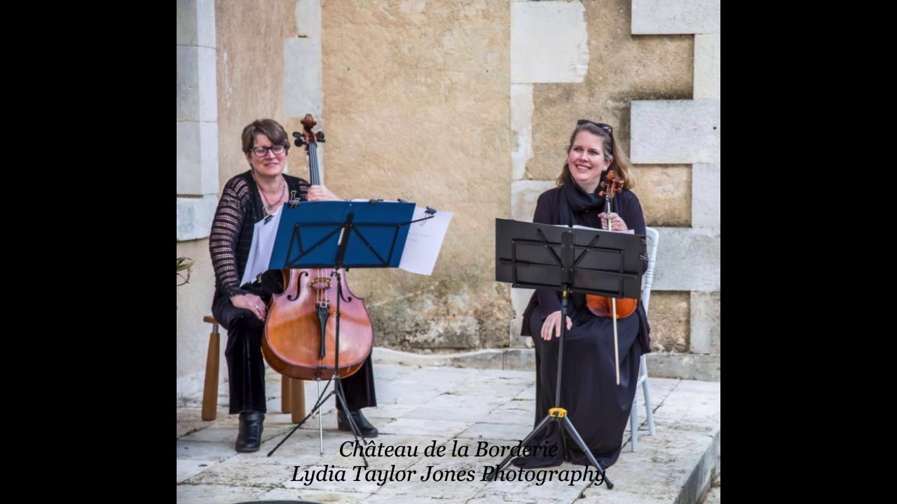 Chateau De La Borderie Benest laura springham - violinist - brides in france