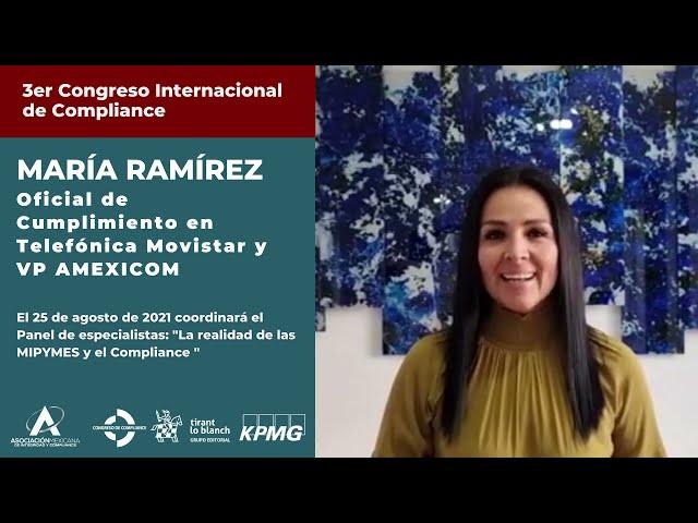 María Ramírez te invita al 3er Congreso AMEXICOM