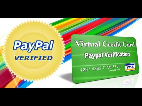 CREATE Virtual Card Mastercard▐ VERIFIED PAYPAL 100% ▐ FAST AND EASY